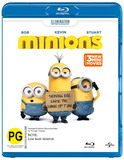 Minions on Blu-ray