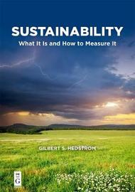 Sustainability by Gilbert S. Hedstrom