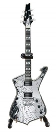Axe Heaven: Miniature Replica - KISS Paul Stanley Guitar (Cracked Mirror)