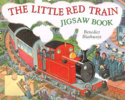 The Little Red Train Jigsaw Book by Benedict Blathwayt image