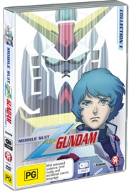 Mobile Suit Zeta Gundam - Collection 1 on DVD image
