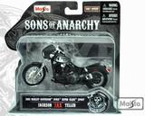 Maisto Sons of Anarchy Jax Teller Die-Cast Motorcycle