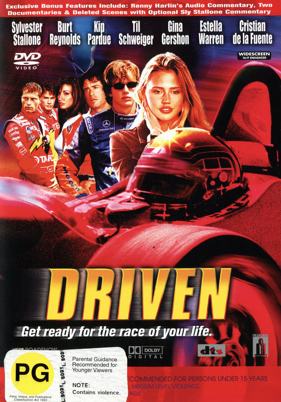Driven on DVD