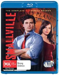 Smallville - The Complete Eighth Season on Blu-ray