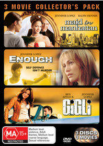 Maid In Manhattan / Enough / Gigli - 3 Movie Collector's Pack (3 Disc Set) on DVD