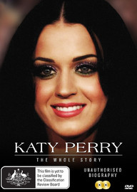 Katy Perry: The Whole Story on DVD