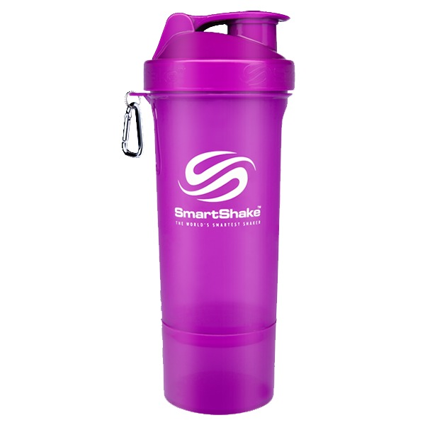 Smartshake Slim 400ml Neon Purple