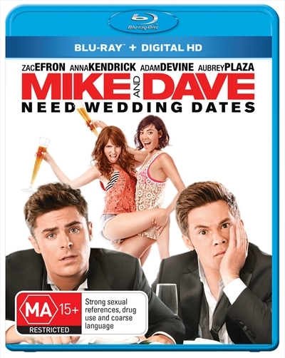 Mike and Dave Need Wedding Dates on Blu-ray image