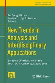 New Trends in Analysis and Interdisciplinary Applications image