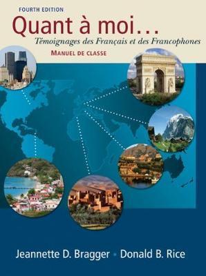 Quant a Moi..: Temoignages Des Francais Et Des Francophones by Donald Rice image