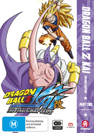 Dragon Ball Z Kai: The Final Chapters - Part 2 (Eps 24-47) on DVD