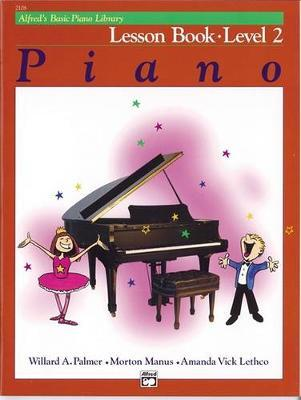 Alfred's Basic Piano Library Lesson Book, Bk 2 by Willard A Palmer image