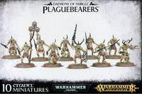 Warhammer Daemons of Nurgle Plaguebearers