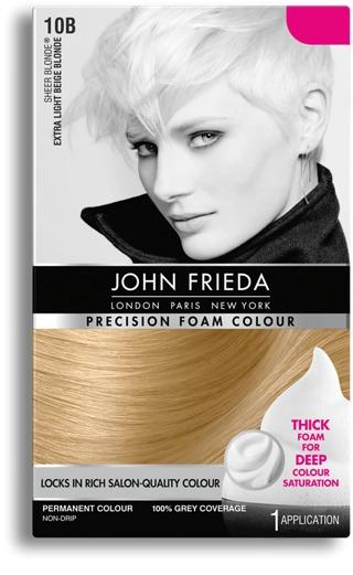 John Frieda Precision Foam Colour - 10B Extra Light Beige Blonde