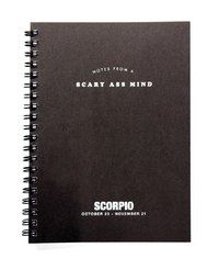 Whiskey River Co: Astrology Journal - Scorpio