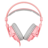SADES A6 Gaming Headset (Pink) for Switch, PC, PS4