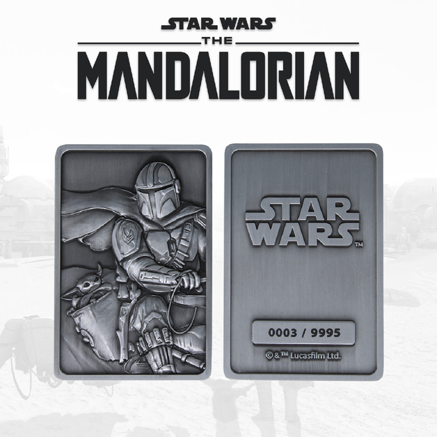 Star Wars: The Mandalorian - Precious Cargo Metal Ingot