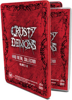 Crusty Demons - Hard Metal Collection: Vol. 1-10 (6 Disc Tin Set) on DVD