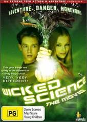 Wicked Science - The Movie on DVD
