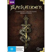 Black Adder Complete Collection Remastered DVD