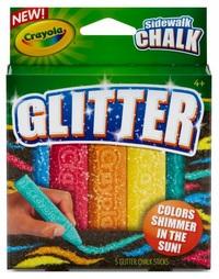 Crayola: Sidewalk Chalk Glitter image