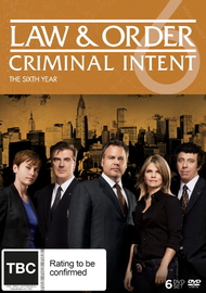 Law And Order: Criminal Intent - The Sixth Year (6 Disc Set) on DVD