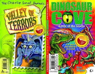 Dinosaur Cove: Battle of the Giants/The Charlie Small Journals: Valley of Terrors - World Book Day Pack by Charlie Small