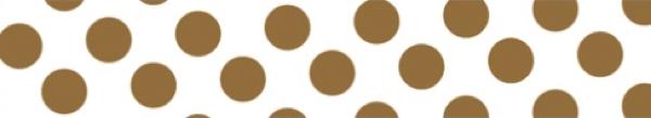 Mark's Tokyo Edge Gold/Polka Dots Washi Tape image