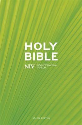 NIV Schools Hardback Bible by New International Version image
