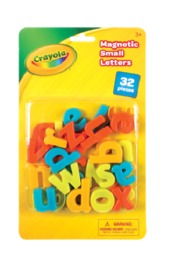 Crayola: Magnetic Letters (Lower Case) - (32pc)