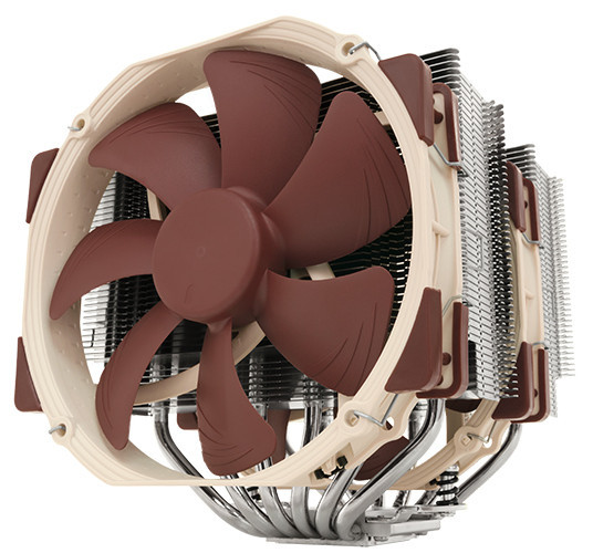 Noctua NH-D15 Elite-Class - Six Heatpipe Dual Tower Cooler