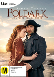 Poldark - Season 3 on DVD