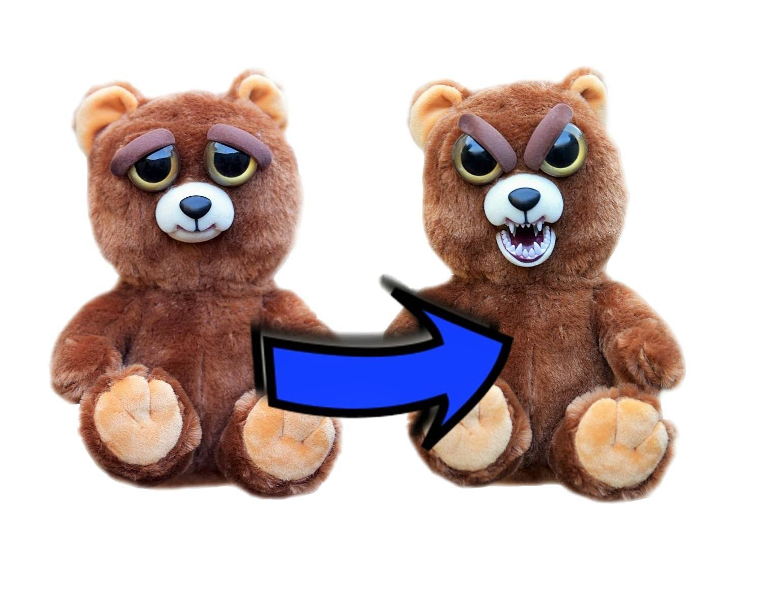 Feisty Pets: Sir Growls Alot - Transforming Bear Plush image