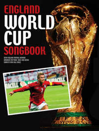 England World Cup Songbook by David Weston image