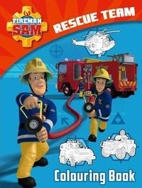 Fireman Sam: Rescue Team Colouring Book
