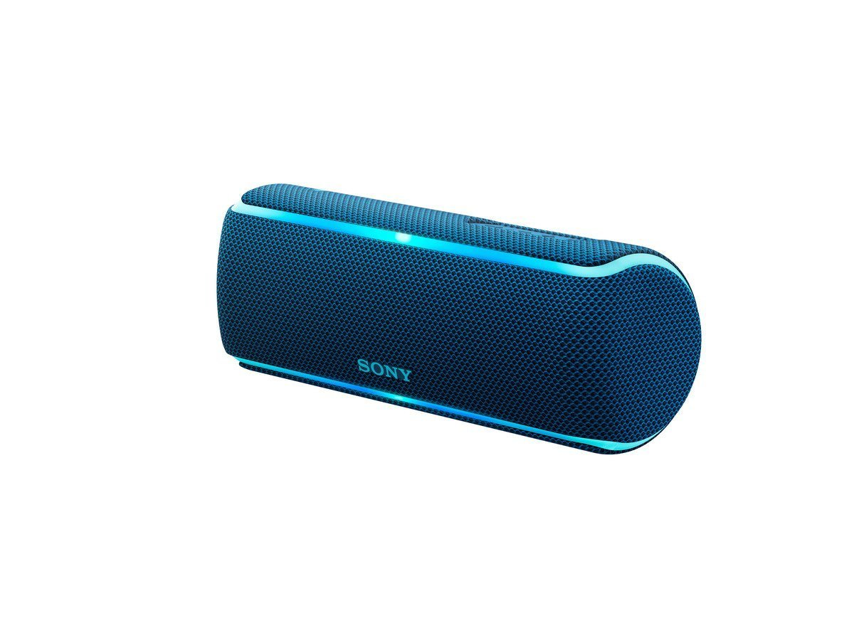Sony: SRS-XB21L Portable Wireless Speaker - Blue image