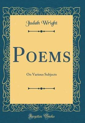 Poems by Judah Wright