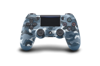 PlayStation 4 Dual Shock 4 v2 Wireless Controller - Blue Camouflage for PS4