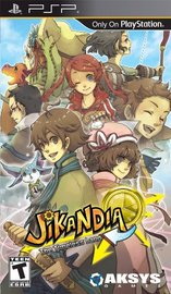 Jikandia: The Timeless Land for PSP image