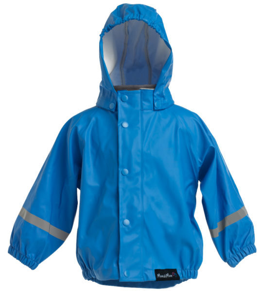 Mum 2 Mum: Rainwear Jacket - Royal Blue (4 Years) image