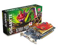 Gigabyte Graphics Card Radeon X700 Pro 256M VIVO PCIE image