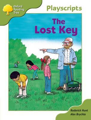 Oxford Reading Tree: Stage 7: Owls Playscripts: The Lost Key by Roderick Hunt image