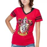 Harry Potter Gryffindor Slimfit T-Shirt (X-Large)