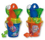 Androni: Transparent Crazy Fish - Large Bucket Set