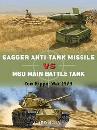 Sagger Anti-Tank Missile vs M60 Main Battle Tank by Chris McNab image