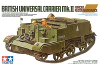 Tamiya 1/35 British Universal Carrier Mk.II Forced Reconnaissance - Model Kit