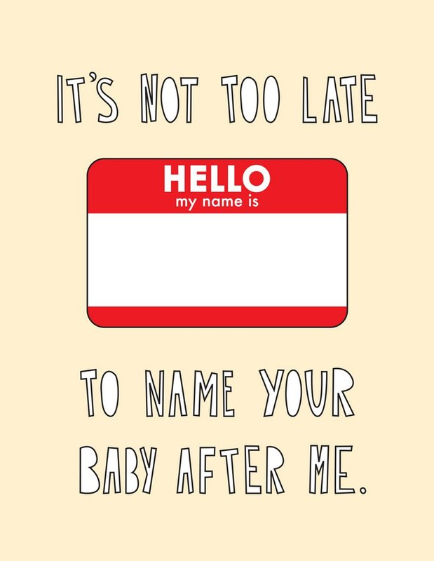 Near Modern Disaster: Named After Me - Greeting Card