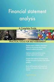 Financial Statement Analysis a Complete Guide by Gerardus Blokdyk image