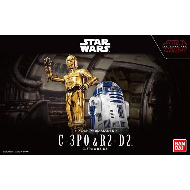 Star Wars: 1/12 C-3PO & R2-D2 - Model Kit