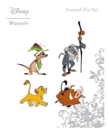 Loungefly: Lion King - Enamel Pin 4pk image